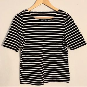 Talbots Striped Top size M
